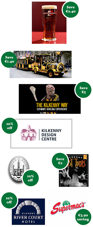 Day Trips to Kilkenny with JJ Kavanagh & Sons