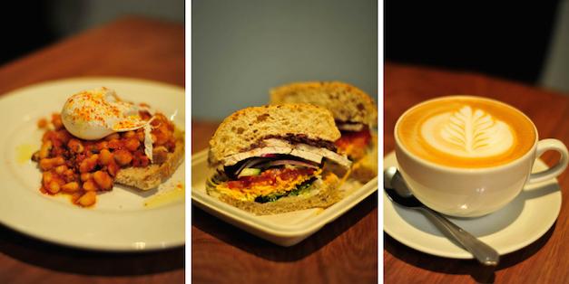 Sage Cafe Collage