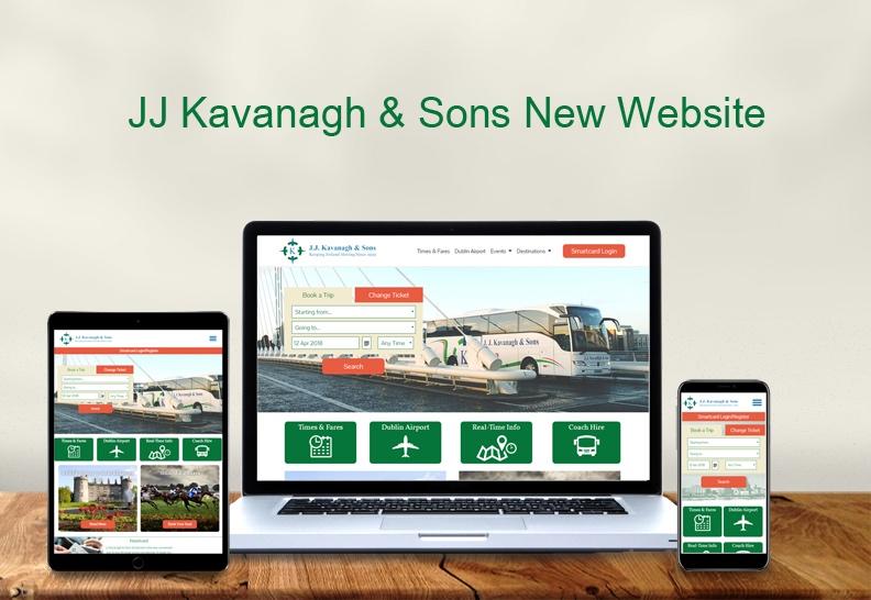 JJ Kavanagh & Sons New Website