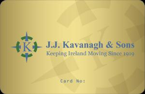 J J Kavanagh Tax Saver Smartcard